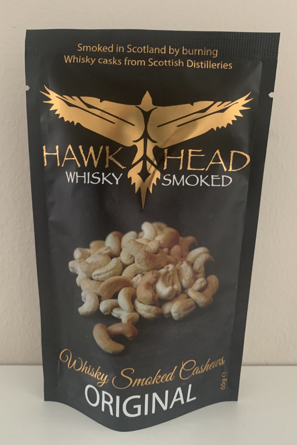 Hawkhead Whiskysmoked Cashews - Original
