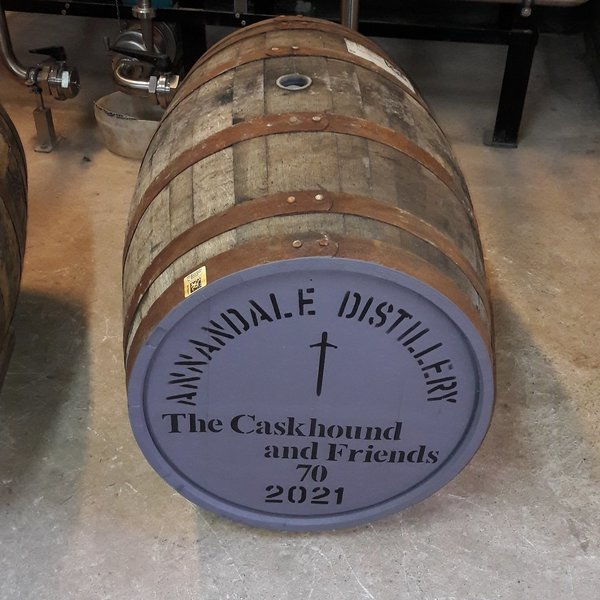 Fassanteil Annandale Distillery - 1st Fill Chateau Margaux Wine Cask - Lagerung bis 2028
